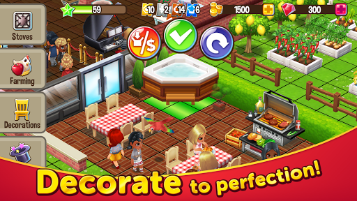 Food Street - Restaurant Game