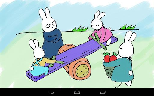 Coloring Doodle - Bunny GO