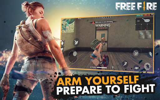 Free Fire - Battlegrounds for Samsung Galaxy J2 - free download APK