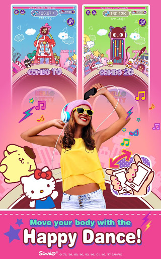 Hello Kitty Music Party for Oppo A37 - free download APK