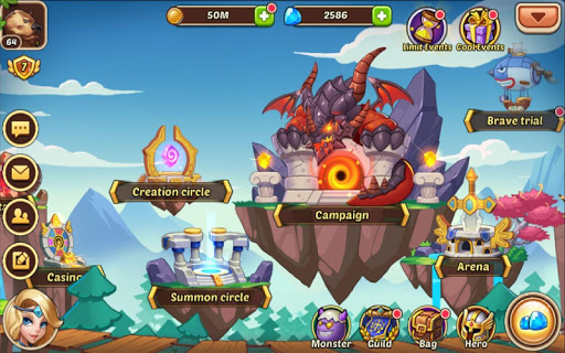 Free download Idle Heroes APK for Android