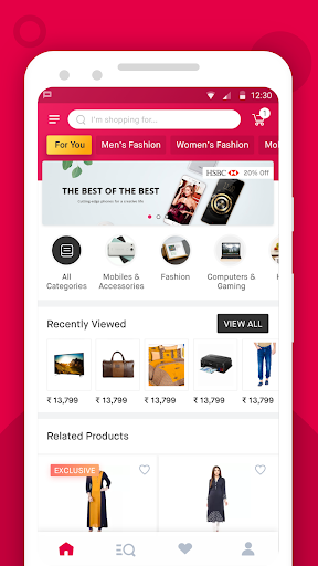 Snapdeal: Online Shopping App for Unihertz Jelly - free download APK