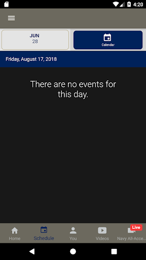 Navy Sports Gameday LIVE