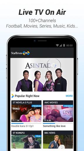 StarTimes - Live TV & Football for LG K10 - free download APK file