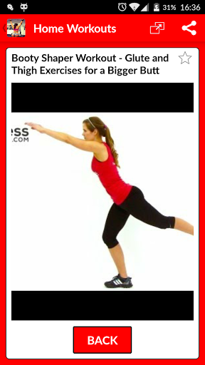 Home Exercise Workouts