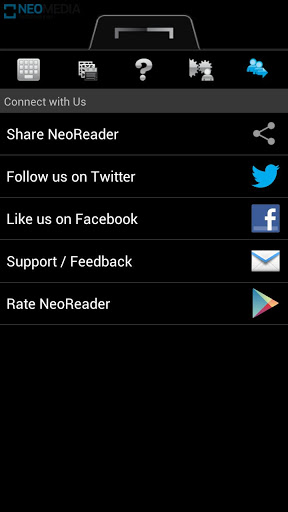 Free download NeoReader QR & Barcode Scanner APK for Android
