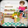 icon Supermarket Cashier Girl