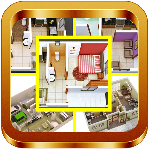 3DSmall Home Plan Design Ideas