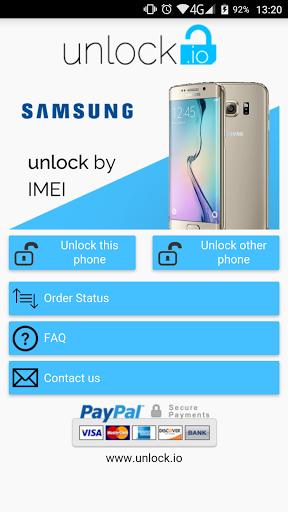 SIM Unlock Samsung for Sharp Aquos 507SH - free download APK