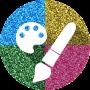 icon Glitter Paint