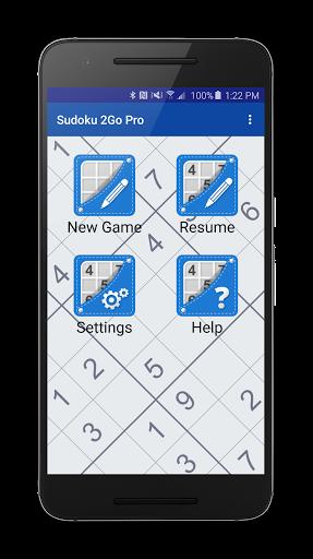 Sudoku 2Go Free for infinix Hot 4 Lite - free download APK file for
