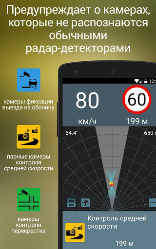 Antiradar M. Radar detector.