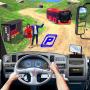 icon Modern Bus Drive Parking 3D