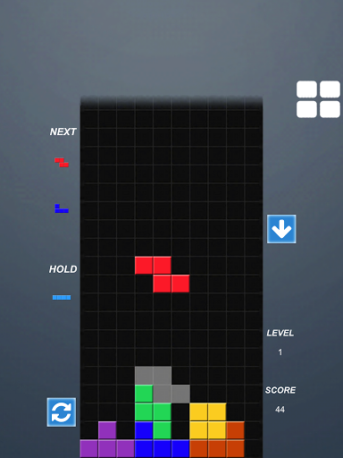 Falling Block Puzzle Game for Samsung Galaxy S Duos 3 - free