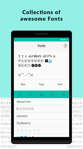 Font Changer for Samsung Galaxy C7 Pro - free download APK