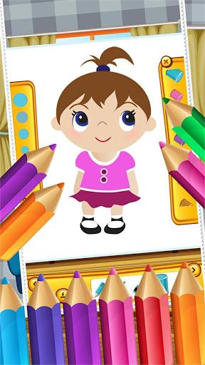 Little Girls Coloring World
