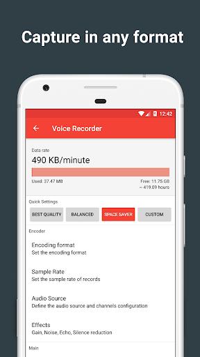 Voice Recorder for BlackBerry Aurora - free download APK