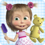 icon Masha and the Bear Clean House