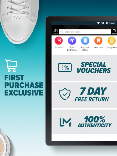 Lazada - Shopping & Deals for kyocera DuraForce Pro KC-S702 - free