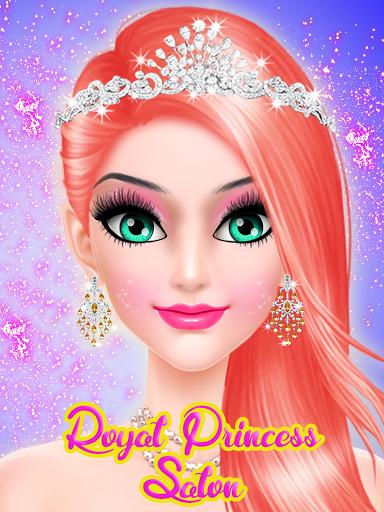 Description of Royal Princess: Makeup Salon Games For Girls (from google play)