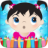 icon Little Girls Coloring World Drawing Story Kids Game 1.0