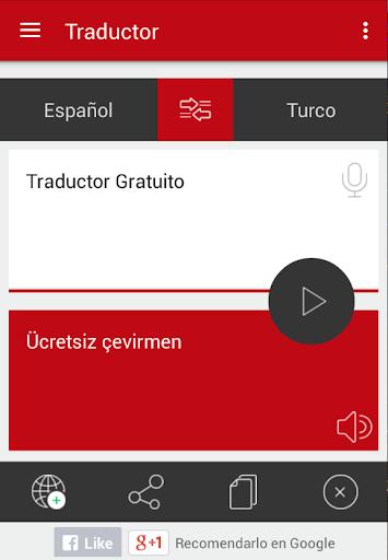 Traducir turco a español