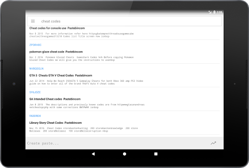 Free download Pastebin APK for Android