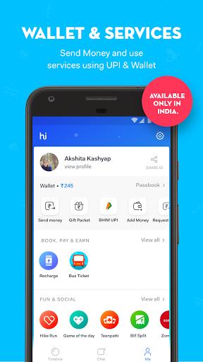 hike messenger for BlackBerry KEYone - free download APK file for KEYone