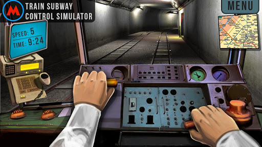 Free download Subway 3D Control Simulator APK for Android
