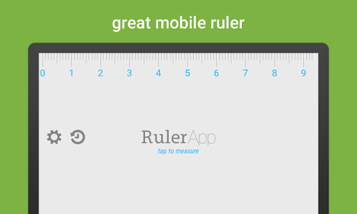 Ruler App for Samsung P1000 Galaxy Tab - free download APK file for