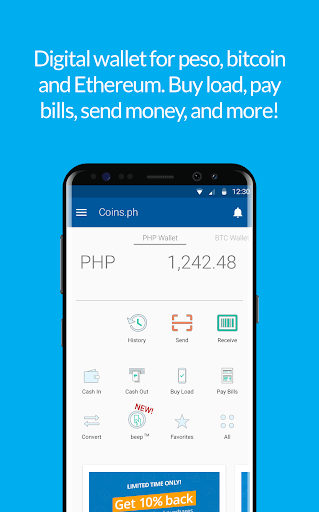 Coins ph Wallet for Oppo A57 - free download APK file for A57