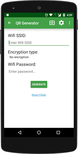 Free download QR code Scanner and Generator APK for Android