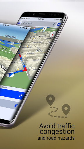 GPS Offline Maps, Navigation, Directions & Traffic