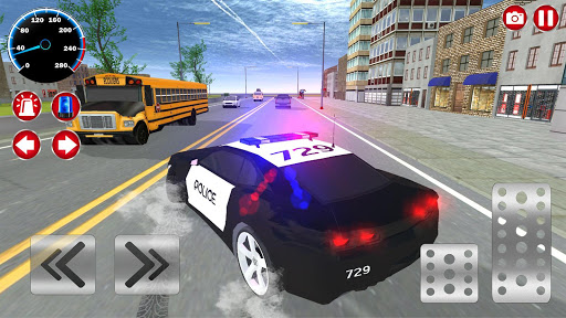 Real Police Car Driving Simulator: Car Games 2020