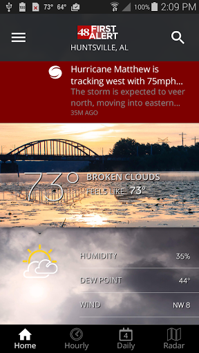 Free download WAFF 48 Storm Team Weather APK for Android