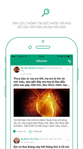 Udoctor - Ask your doctor for free