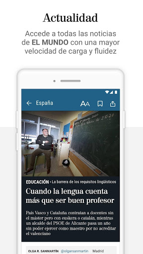 El Mundo - Online leader newspaper
