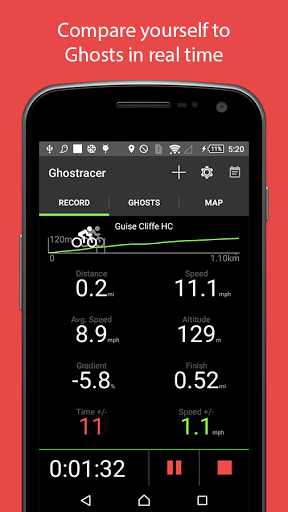 Ghostracer - GPS Run & Cycle