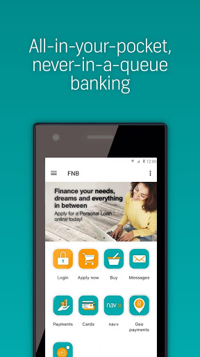 FNB Banking App for Samsung Galaxy S3 - free download APK