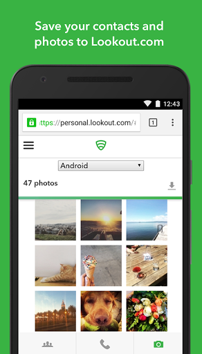 Free download Lookout Security & Antivirus APK for Android
