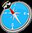 icon com.quranreading.qibladirection 6.9