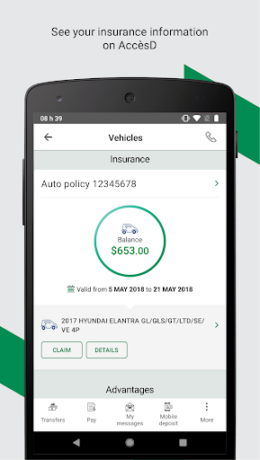 Free download Desjardins mobile services APK for Android