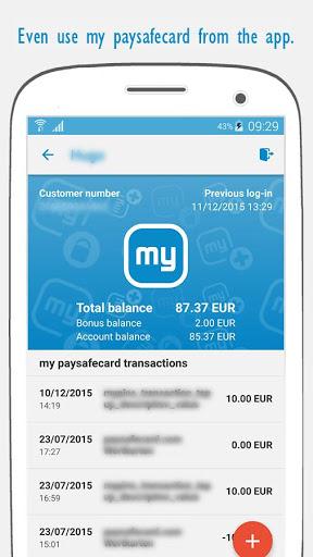 paysafecard – pay cash online