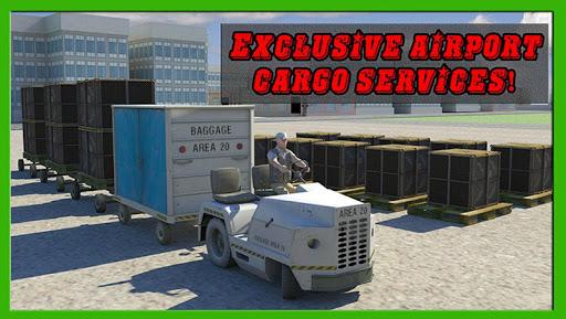 Airport Cargo Truck Driver 3D