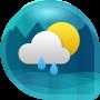 icon Weather & Clock Widget