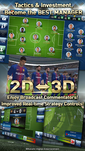 Free download PES CLUB MANAGER APK for Android