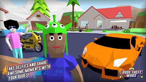 Free download Dude Theft Auto: Open World Sandbox Simulator BETA APK