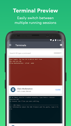 Free download Termius - SSH & Telnet Client APK for Android