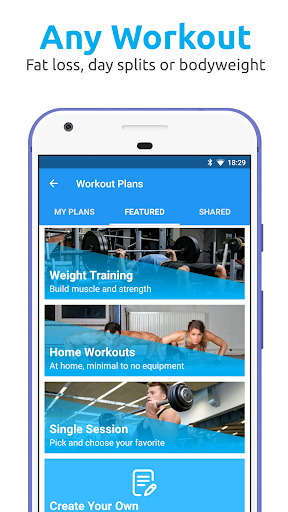 JEFIT: Workout Tracker Gym Log for Xiaomi Redmi Pro - free download