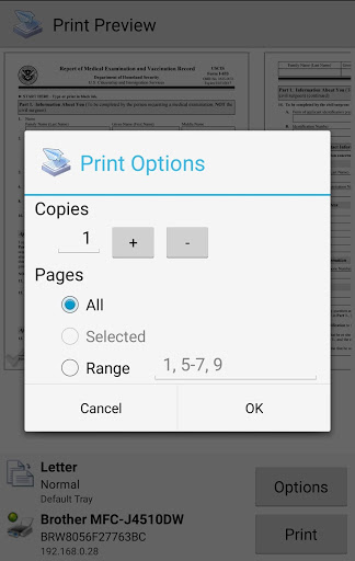 Mobile Print - PrinterShare for oppo A83 Pro - free download APK